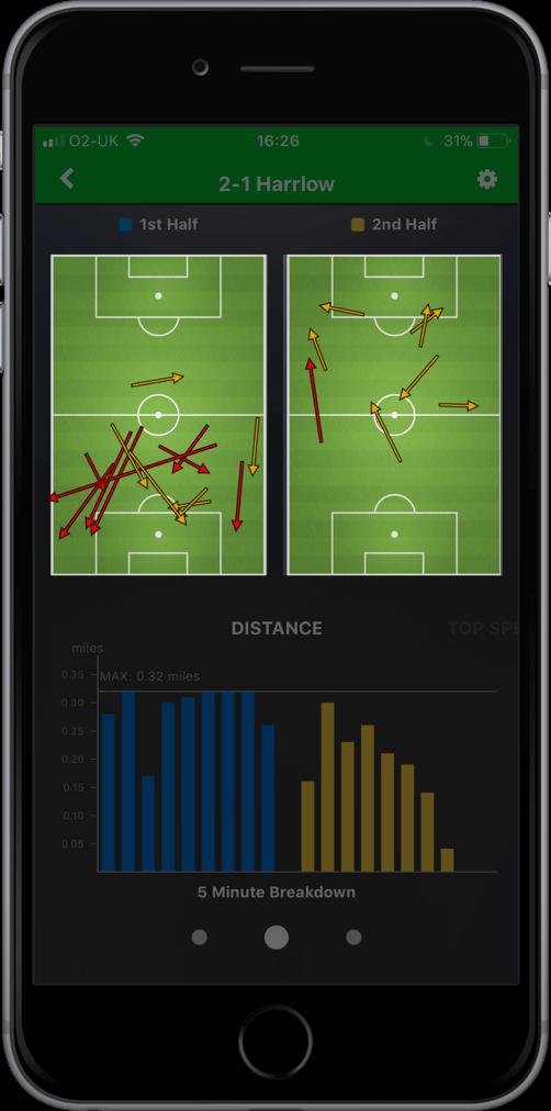 playertek app - analyze 6
