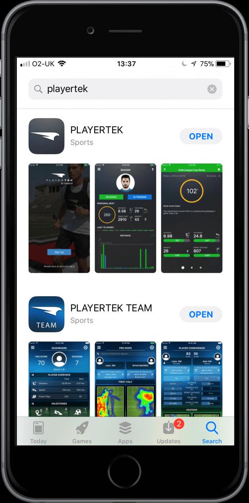 playertek app download