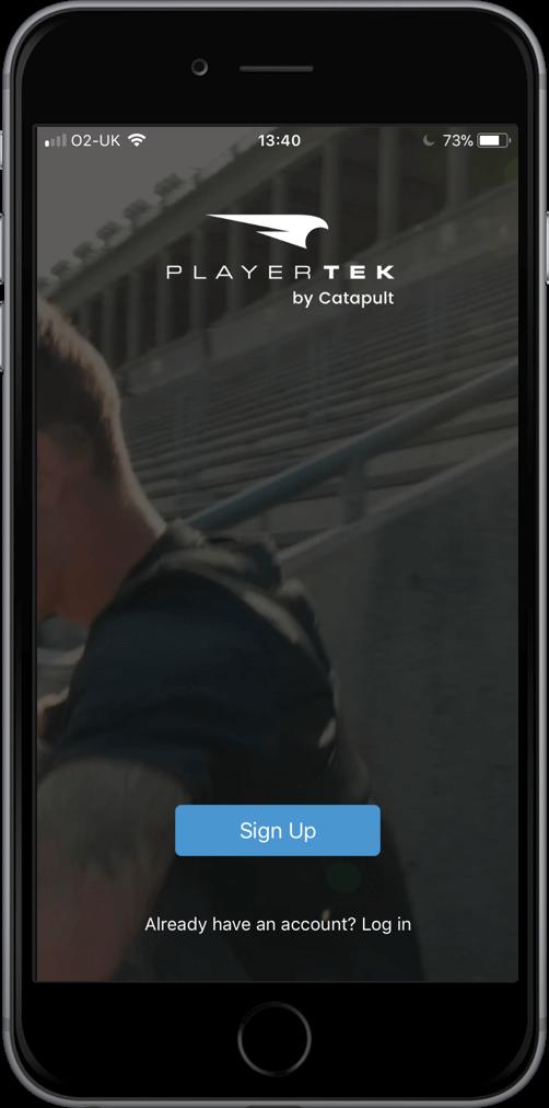 playertek app - setup 1