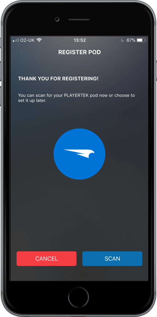 playertek app - setup 3