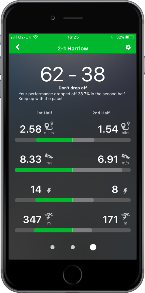 playertek app - analyze 3