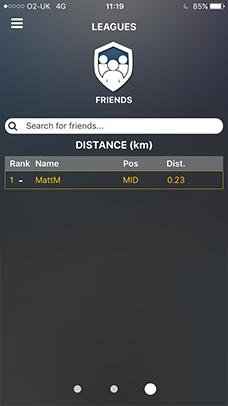 playertek app - leagues 4