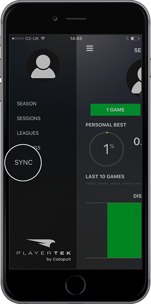 playertek app - syncing 1