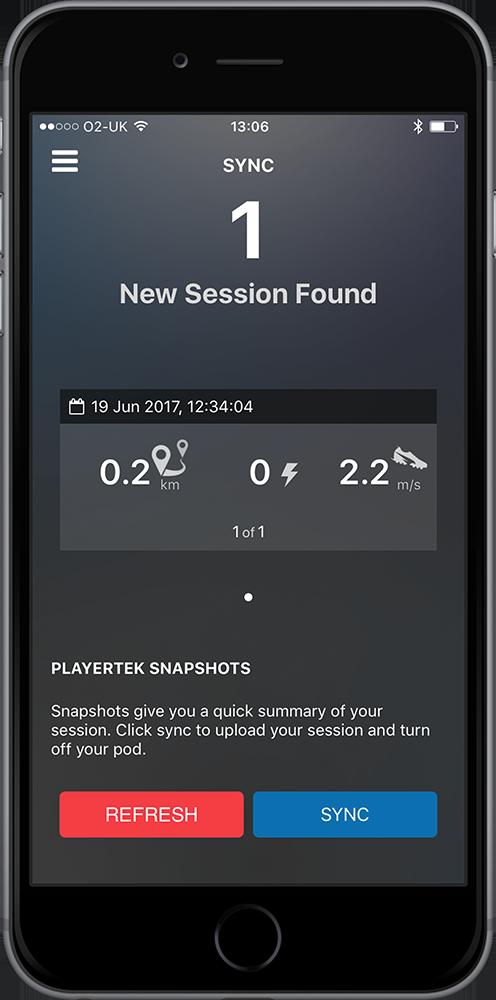 playertek app - syncing 3