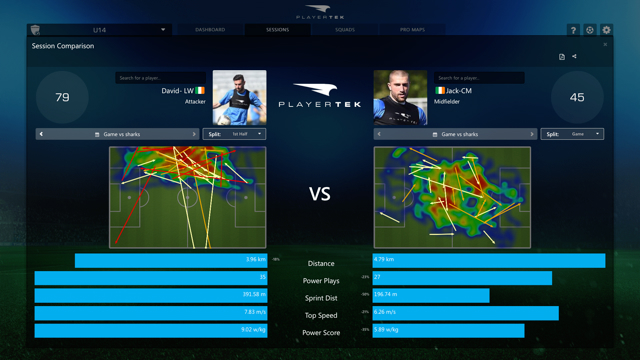 playertek team solution features - compare