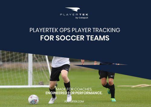 PlayerTek GPS Athlete Monitoring for Soccer Teams