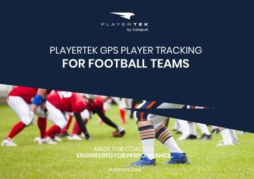PlayerTek GPS Athlete Monitoring for Football Teams